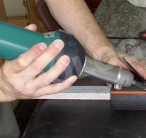Titanium Welding Nozzle/หัวไทเทเนียมเชื่อมพลาสติกด้วยลมร้อน